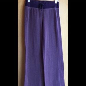 Lululemon heathered purple sweatpants